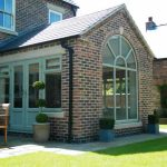 French doors in an orangery - conservatories vs orangeries