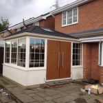 Our tiled roof conservatory with composite doors