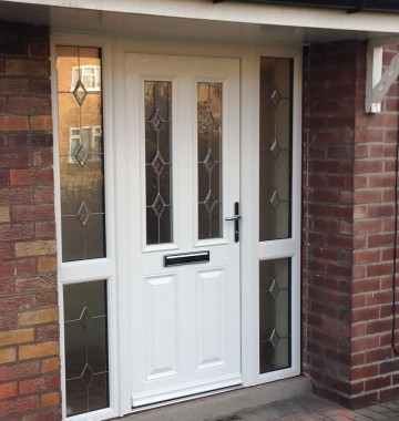 Composite upvc entrance doors in yorkshire k glazing for Composite front doors