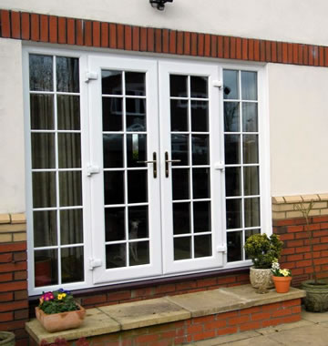 Georgian style french doors