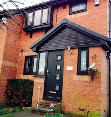 Composite & uPVC Entrance Doors in Yorkshire   K Glazing