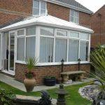 Edwardian style conservatory in uPVC