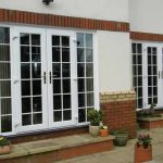 uPVC french double doors