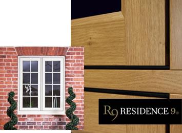 Residence 9 timber effect windows