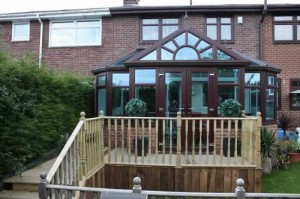 Grand rosewood conservatory-coloured conservatories