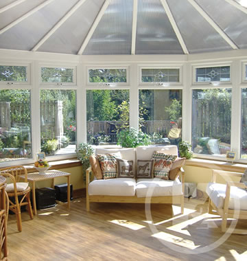 transform your old Conservatory with plastic roof
