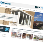 K Glazing website: new site built by Purplex Marketing for one of Yorkshire