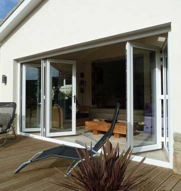 Bi-folding Doors in Yorkshire | K Glazing