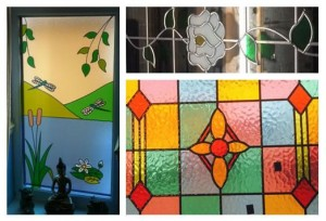 Stained glass windows created by K Glazing in Yorkshire, UK